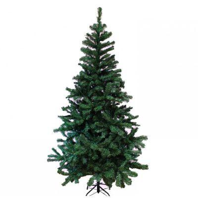 Albero Di Natale Alaska 150Cm abete verde tradizionale