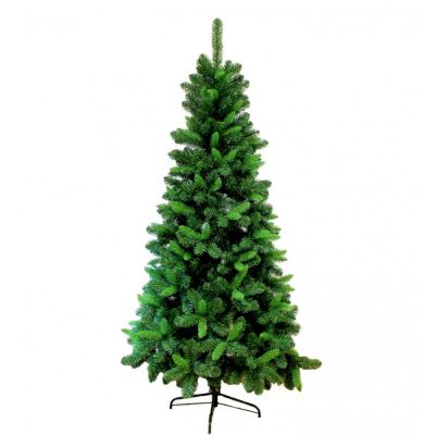 Albero di Natale Slim Colorado 210 cm Abete Ecologico Salvaspazio