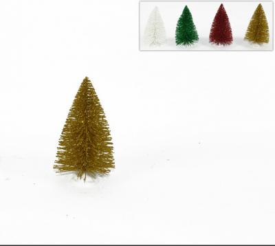 Piccolo Alberello di Natale Glitterato
