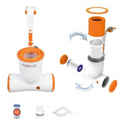 Bestway 58462 Pompa filtro a Cartuccia Skimatic per Piscine fuori Terra piscina pulire