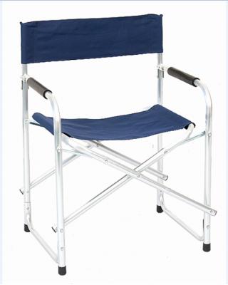 Sedia poltrona pieghevole REGISTA in alluminio da campeggio mare giardino blu