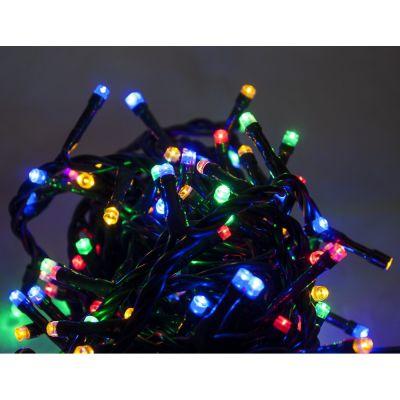Catena Luminosa 180 LED Multicolor per Interno/Esterno con 8 Giochi di Luce trasformatore 13m