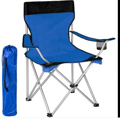 Sedia UMBRELLA Pieghevole Da Campeggio Con sacca Camping Sedia Spiaggia blu 80cm