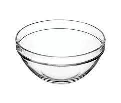 Piccola coppetta in vetro trasparente d.14 cm ideale per servire piccoli dolci