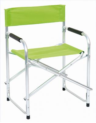 Sedia poltrona pieghevole REGISTA in alluminio pieghevole da campeggio mare giardino verde