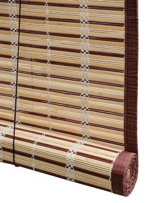 Tapparella Egitto in listelli di bambù da 20 mm circa beige-150x300