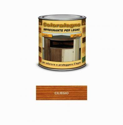 Coloralegno impregnante per legno colora e proteggi Ciliegio 250ml Veleca