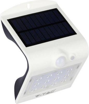 Lampada solare per esterno con rilevatore di movimento 1.5W 4000k+4000 Bianco