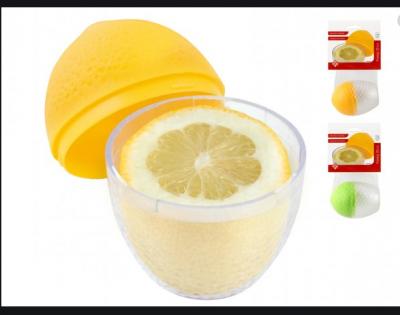 Contenitore in plastica per limone
