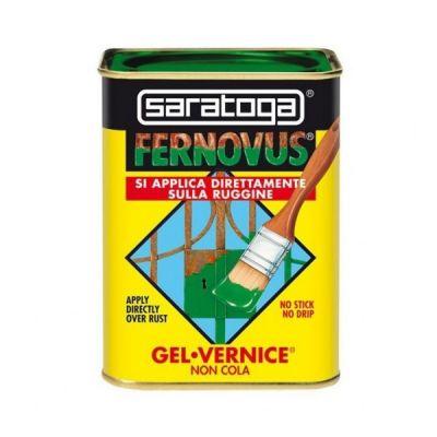 Vernice Gel antiruggine Fernovus 750ml Rosso Mattone satinato Saratoga