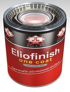 Eliofinish One Coat supersmalto siliconizzato brillante smalto coprente Amaranto 0,75
