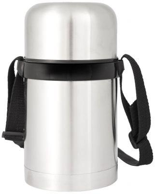 Porta Vivande Inox Con Tracolla Capacità 0.75 Litri