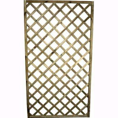 Pannello Lasa in legno impregnato grigliato per giardino recinzioni 60x180