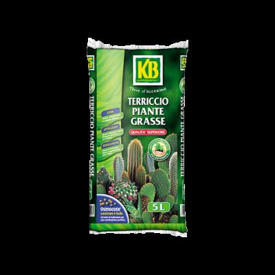 TERRICCIO SPECIFICO PER  PIANTE GRASSE SACCO 5 LT