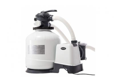 Intex pompa filtro a sabbia per piscina fuori terra portata 12.000 Lt/h