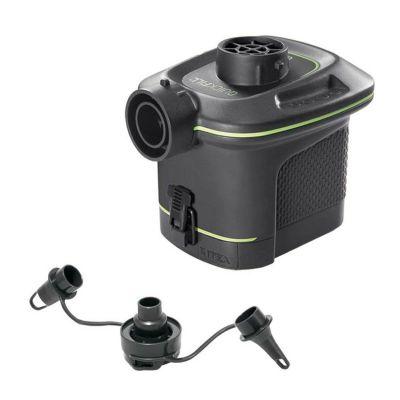 Pompa per gonfiaggio e sgonfiaggio a batteria per materassini e piscine gonfiabili