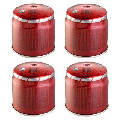 Cartuccia butano 190 gr kemper ricarica gas campeggio saldatore stop system x4