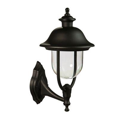 Applique per esterno nero calliope lampada da giardino