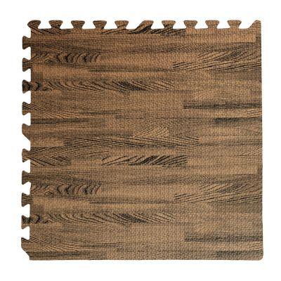 Tappeto puzzle noce 60x60 4 pezzi per bambini antiscivolo tappetino gioco