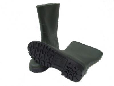 Stivali PVC Tronchetto bassi verdi antiscivolo antinfortunistica n.37