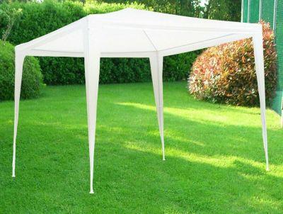 Gazebo classico facile bianco 3 x 3 m ombreggiante arredo giardino