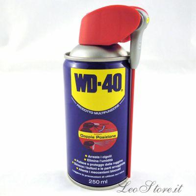 WD-40 sbloccante 250ml Lubrificante multifunzione togli resina