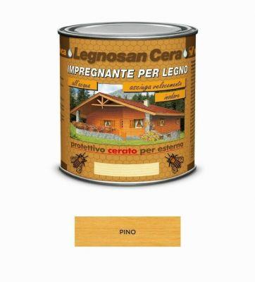 Impregnante per legno protettivo Pino cerato per esterno 750ml all'acqua Veleca