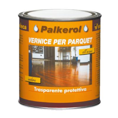Vernice trasparente opaca per parquet trattamento legno protetto Veleca 750ml