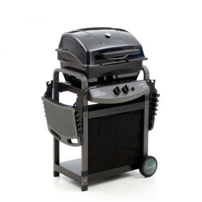 Barbecue a gas saporillo sochef cottura australiana acciaio griglia 2 bruciatori