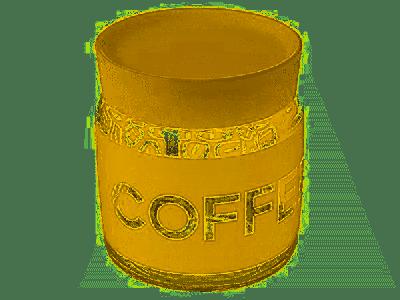Barattolo Bormioli Rocco Barattolo per caffè 0,75 Giara