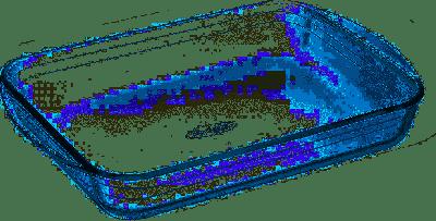 Arcuisine Tegame Rettangolare 35x23cm pirofila da forno