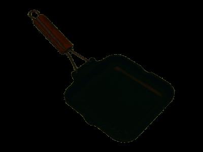 Bistecchiera Antiaderente Delizia Manico 26 cm