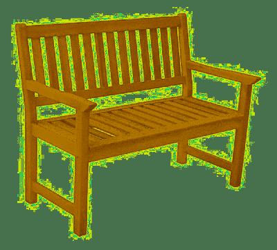Panca panchina sedile in legno 2 posti 120x62x95 gartenbank holz