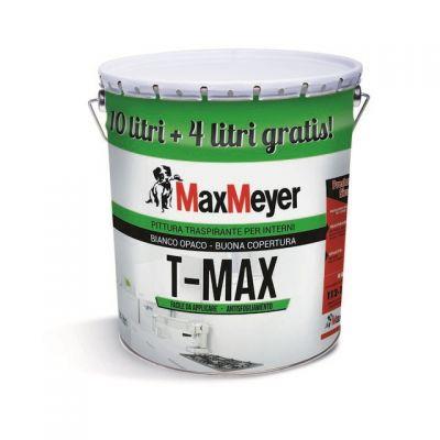 IDRPPITTURA TRASPIRANTE T-MAX 10 + 4 L bianco