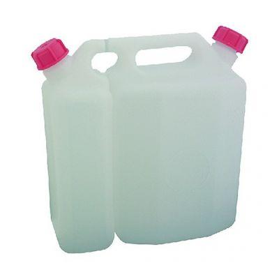 Tanica plastica doppio uso olio-miscela lt.3 - 1,45 lt