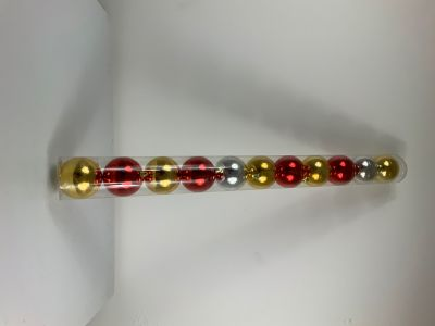 confezione da 11 sfere , palle natalizie per addobbi vari colori