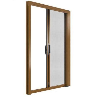 Zanzariera a rullo per porta finestra Laterale 140x250 alluminio riducibile