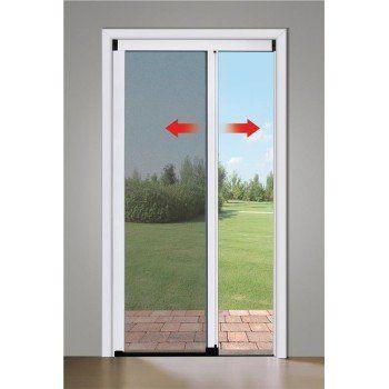 Zanzariera a rullo per porta finestra Laterale 150x250 in alluminio riducibile