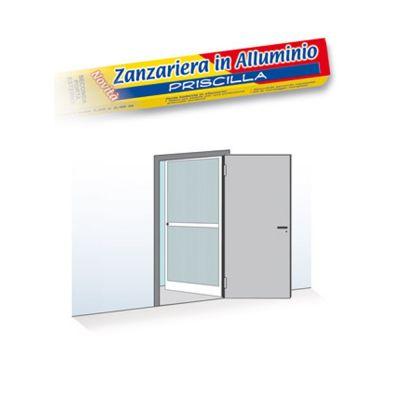 ZANZARIERA 1 PORTA BATTENTE 100X240CM RIDUCIBILE