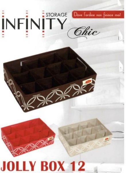 INFINITY CHIC JOLLY BOX 12 32X22X9 cm
