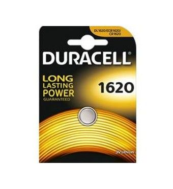 DURACELL BATTERIE A BOTTONE 1620 AL LITIO