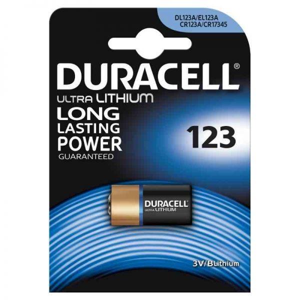 Pile Duracell Litio 123 Ultra M3