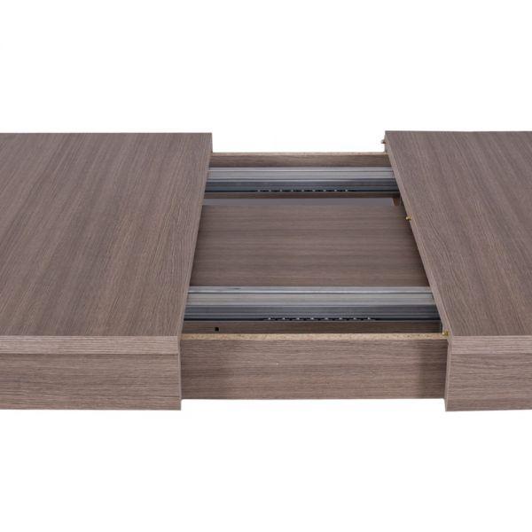 Tavolo Moderno Super allungabile 160x90 larice grigio