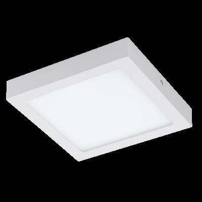 EGLO SPOT LED CON LEGA METALLICA BIANCA E PLASTICA 22,5X22,5 cm