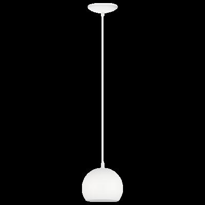 EGLO LAMPADA A SOSPENSIONE IN ACCIAIO BIANCO DA 15cm