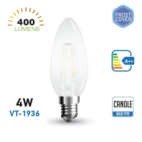 LED BULBS 4W VT-1936 4000K DAYWHITE