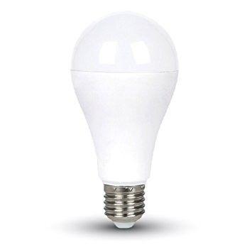 LED BULBS 9W VT-2016 4500K DAYWHITE CON LED SENSORE CREPUSCOLARE