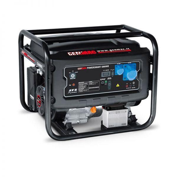 Genmac generatore di corrente con quadro avviamento automatico G6000E ATS
