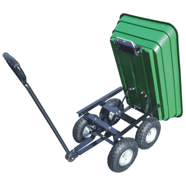 Carrello trasportino ribaltabile cestello,carriola porta olive con 4 ruote portata 260kg
