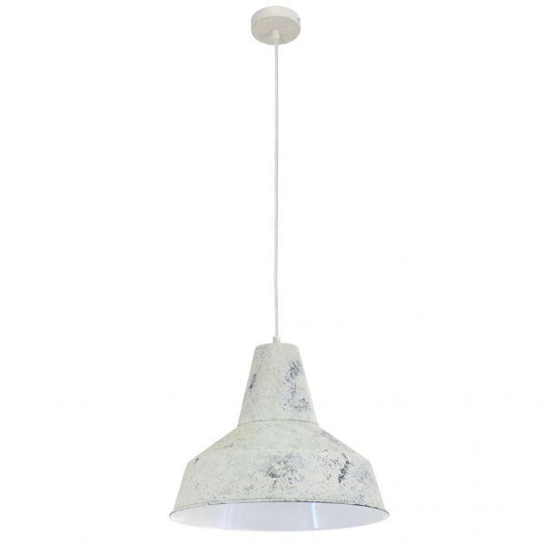 EGLO LAMPADA A SOSPENSIONE IN ACCIAIO BIANCO 35X110 cm